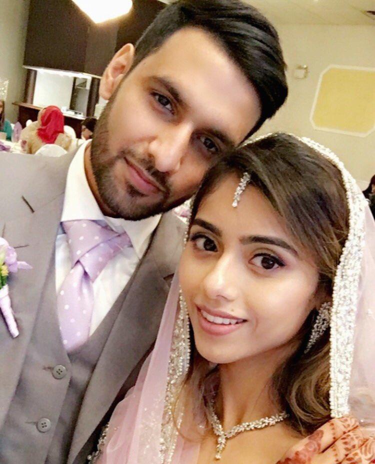 Zaid ali with his beautiful wife