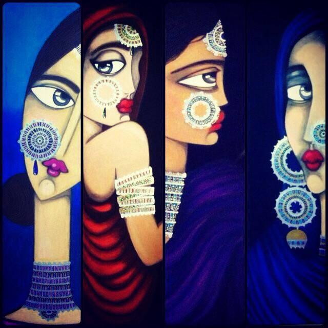 Muniba Mazari's Paintings