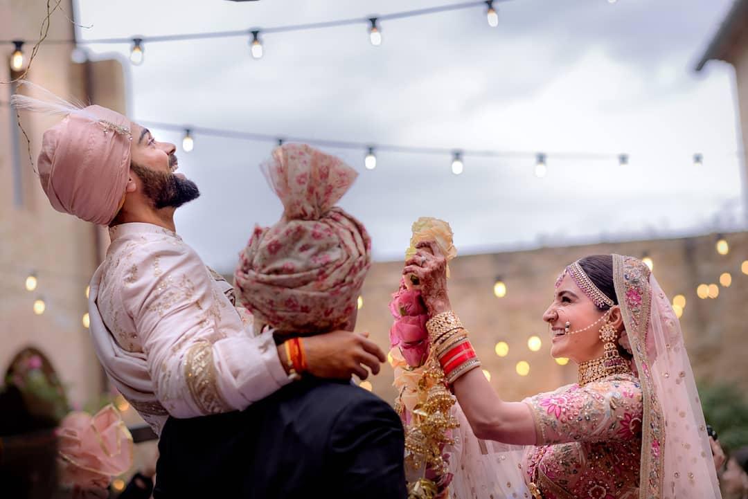 Anushka Virat wedding