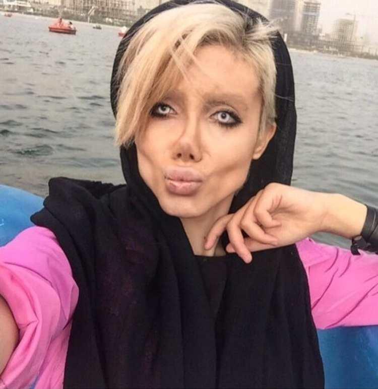 social media followers have said she looks like a 'zombie'