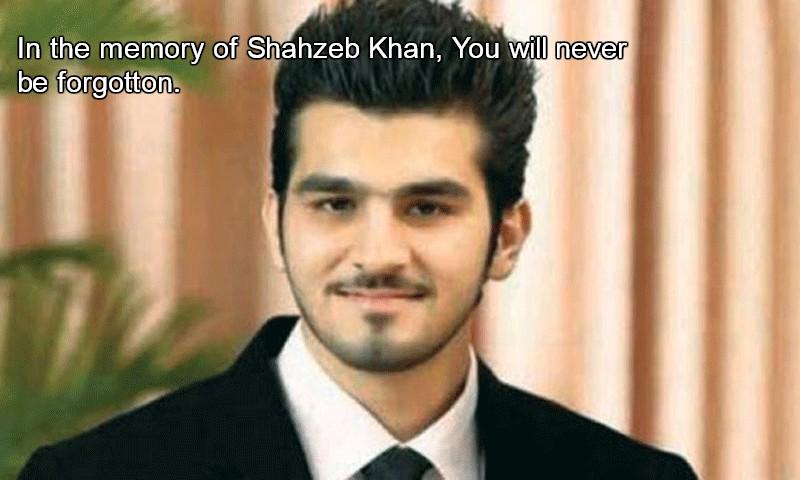 shahzeb murder case