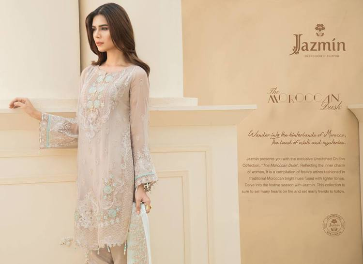 exclusive Chiffon collection, 'The Moroccan Dusk'