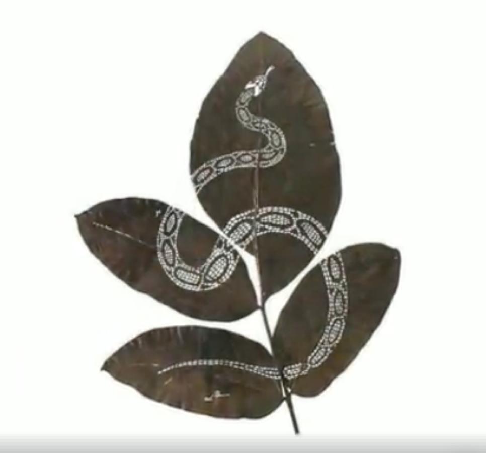 Easy tips of Leaf craving art