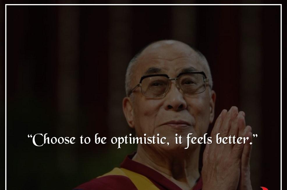 Most influential person, motivational Dalai Lama