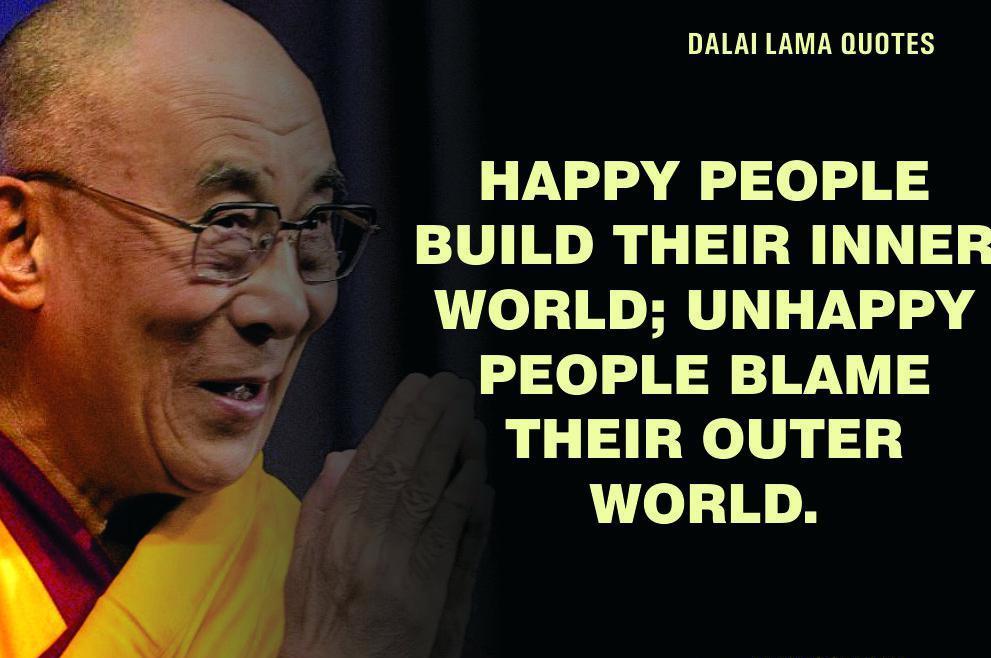 Dalai lama quotes of peace and love kindness