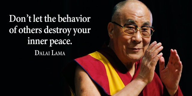 Most influential person, motivational Dalai Lama