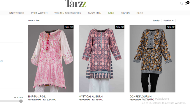 tarzz e bahar collection review