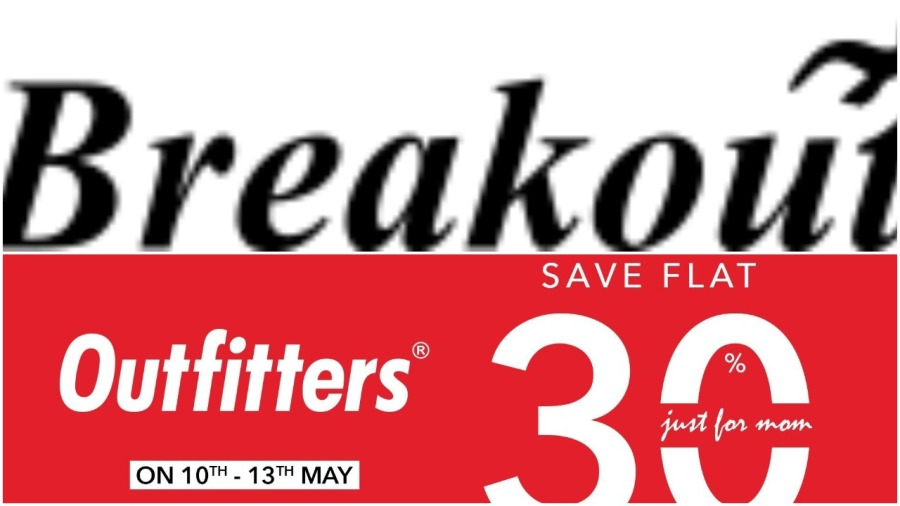 outfitters and breakout clothing sale