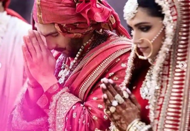 deepika padukone and ranveer sigh wedding latest pictures from sangeet, mehndi, haldi and wedding
