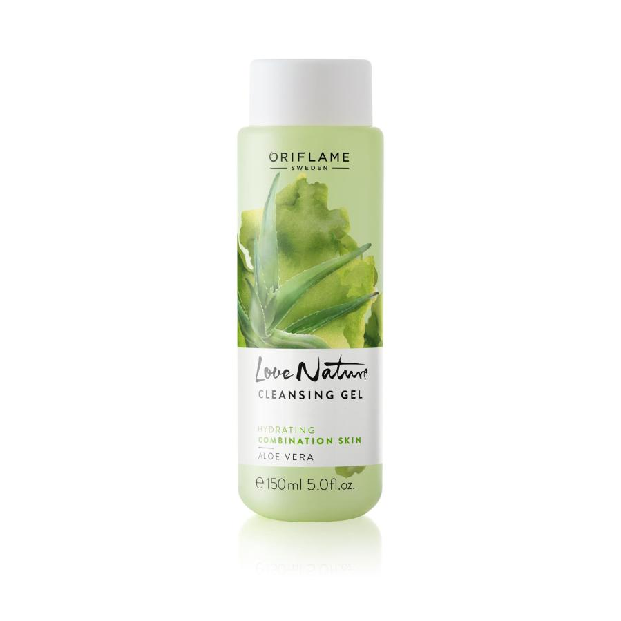 Best face wash. oriflame love nature Aloe Vera Gel review